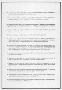 Tätigkeitsverzeichnis Holz- und Bautenschutz Seite 2