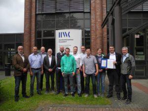 Der Meister-Abschlussjahrgang 2019 im Holz- und Bautenschutz