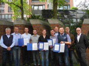 Meister-Abschlussjahrgang 2019 im Holz- und Bautenschutz